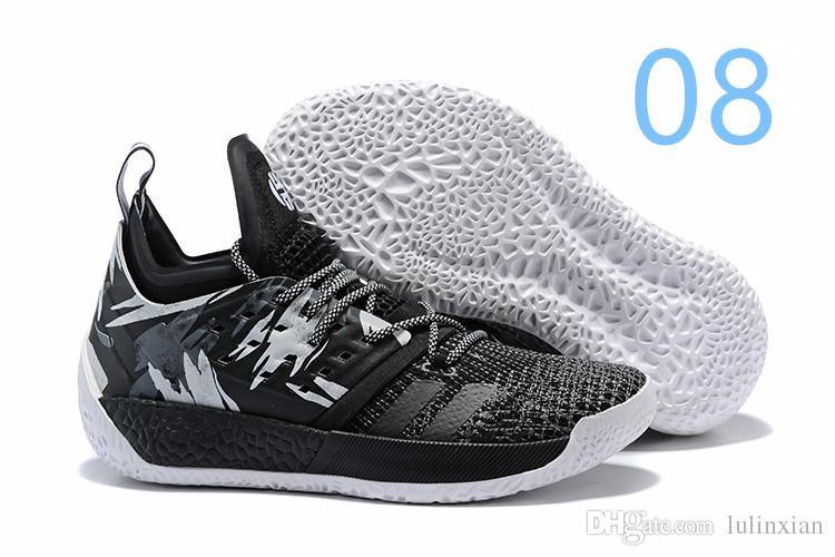 quality design 7f3df 03030 Compre 2019 Noticias De Venta Envío Gratis Zapatos De Baloncesto James  Harden Vol 2 Negro Azul Blanco Gris Para Hombre Endurecer Vol.2 Zapatillas  7 11.5 ...