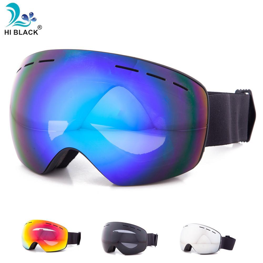 a9299f17217 Ski Goggles Snowboard Glasses Double Layers UV400 Anti-fog Big Mask ...