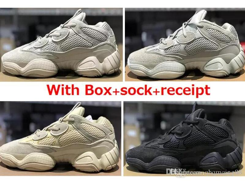 75196b756b99e 500 Blush Desert Rat 500 Super Moon Yellow Running Shoes 500 Salt Utility  Black Sneaker Sports Shoes with Box Chaussures Shoes 97 Womens Running Shoes  ...