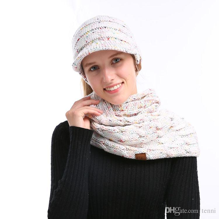 CC Winter Scarf Women Cashmere Scarves Scarf Hat   Glove Sets Cheap Scarf  Online with  45.01 Piece on Tenni s Store  8689d8ece47