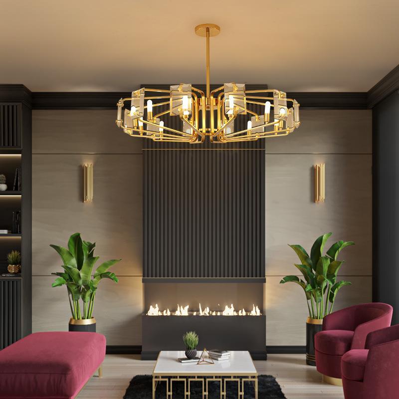 Großhandel Moderne LED Kronleuchter Crystal Pendelleuchten Luxus ...