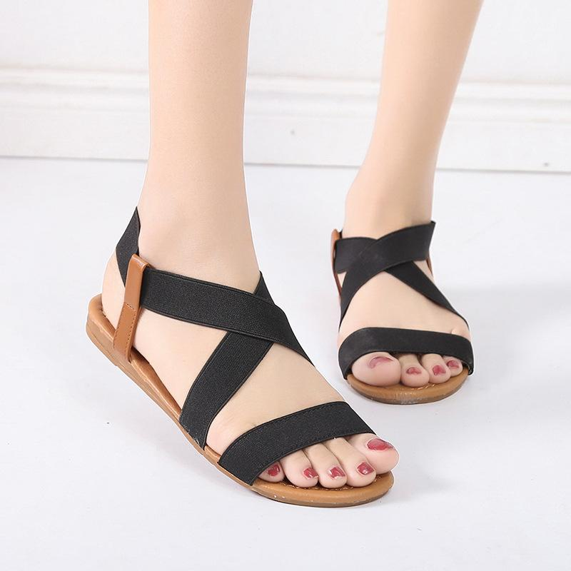 57f74a2f9 Gladiator Sandals 2019 Summer Sandals Women Casual Shoes Female Women Flat  Rome Feminina Soft Bottom Sandalia Men Sandals Heeled Sandals From Leafie,  ...