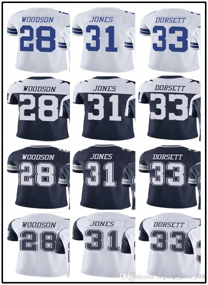 67d41efc8 Customized Dallas Cowboys Sport Rugby Clothing Men WOMEN 33 Tony Dorsett 28  Darren Woodson 31 Jones Rush Football Jersey Online with  25.15 Piece on ...