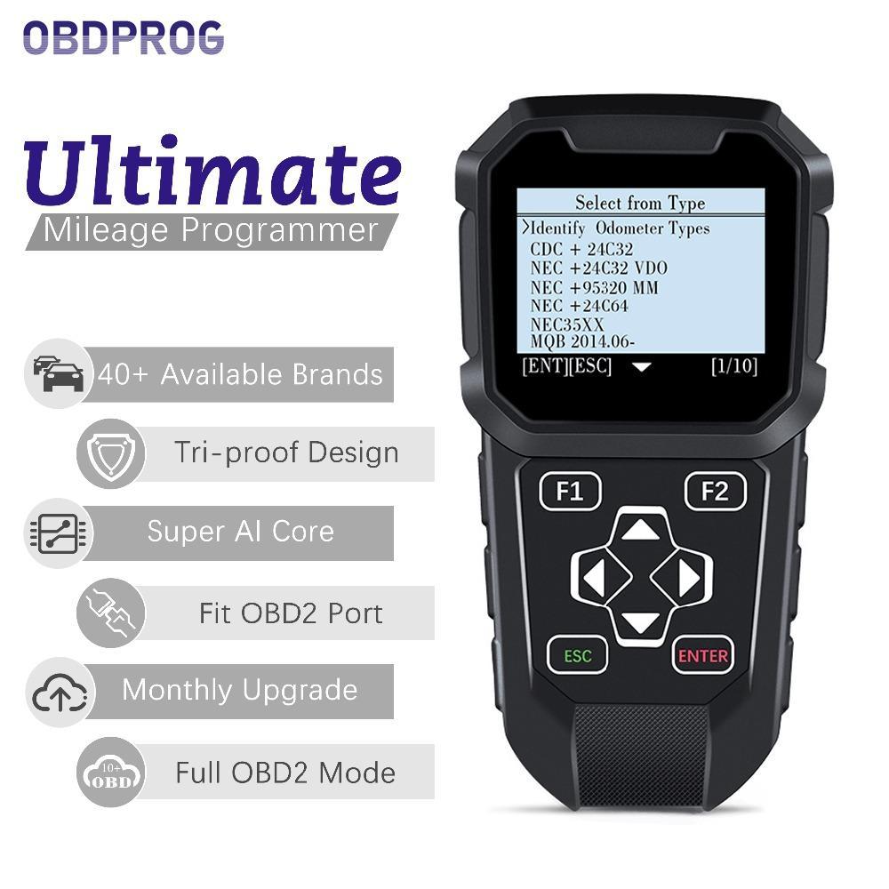 1a4faafe4 Compre OBDPROG MT401 Carro Odômetro Correção Ajustar Ferramenta De Correção  De Quilometragem Para Todos Os Carros OBD2 Alterar Quilometragem Reset Auto  ...