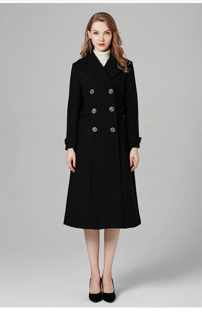 ec4695f60f0 2019 Customize Slim Jacket Autumn Winter Woolen Coats Women Long Sleeve  OvercoatsFemale S M L Casual Women Simple Long Woolen Coat From Gloriana,  ...