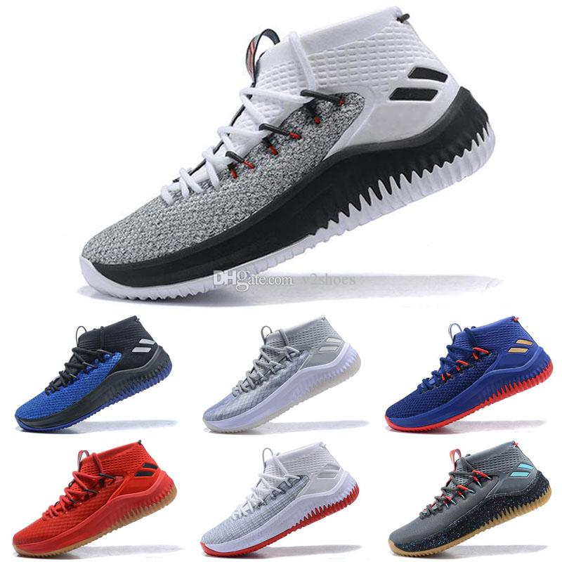 2018 Damian Lillard 4 Shark Men Basketball Shoes Dame 4s Camo Green Red WGM  Sports Mens Trainers Zapatos Sneakers Chaussures Sneakers For Women Shoes  Kids ... 65b118342