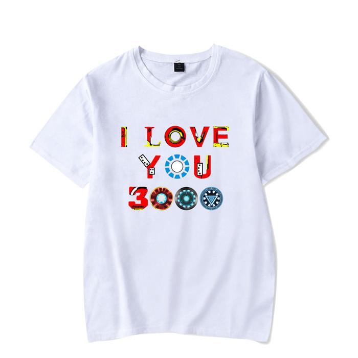 4082f1312 Men T Shirts I Love You 3000 Three Thousand Times Awesome Cotton Tees  Avengers Endgame T Shirts Iron Man Clothing Plus Size Z10 T Shirt Slogans  Dirty T ...