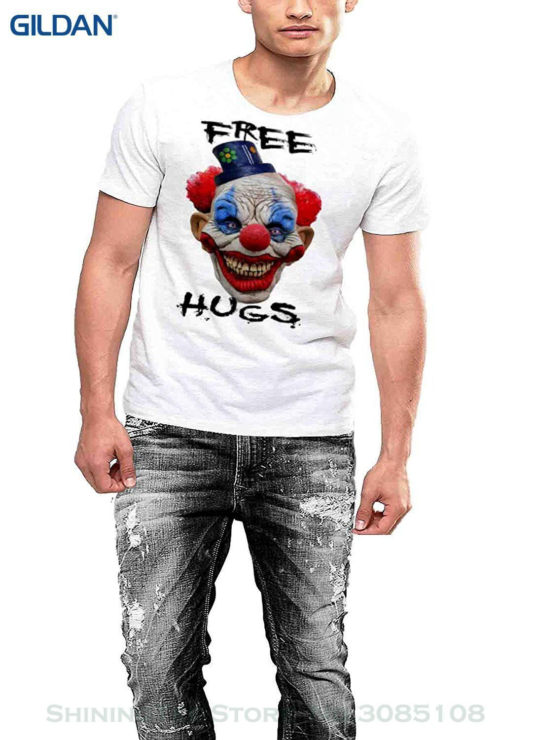 Wholesale Discount Top Quality 2019 New Brand Men S Evil Clown T