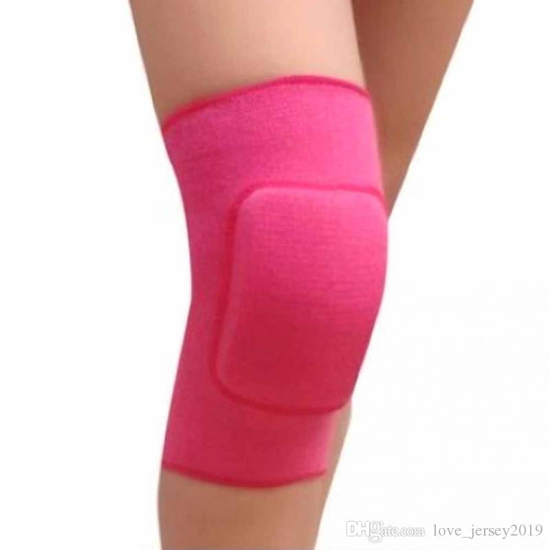 1 Piece Cotton Children Dance Knee Protector Pad Elastic Breathable Kneepads Relief Prevent Arthritis Knee Guard Sports Support #190962