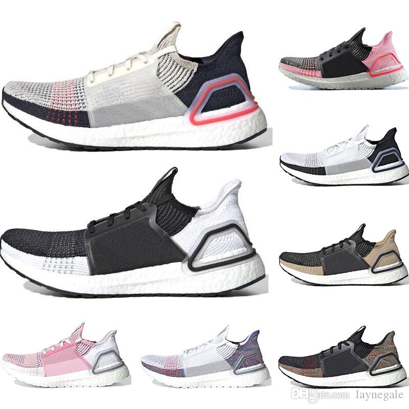 newest collection c575e d2497 New ultra boost 19 running shoes for men women Oreo REFRACT True Pink  ultraboost mens trainers breathable sports sneakers size 36-45