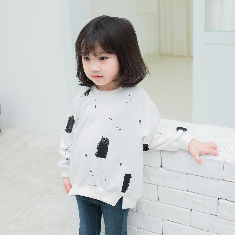 0b8a74a6 WLG Spring Autumn Family Matching Clothes Father Mother And Son Daughter  Printed White Army Green Hoodies Children Clothing Crochet Boys Sweater Kids  ...