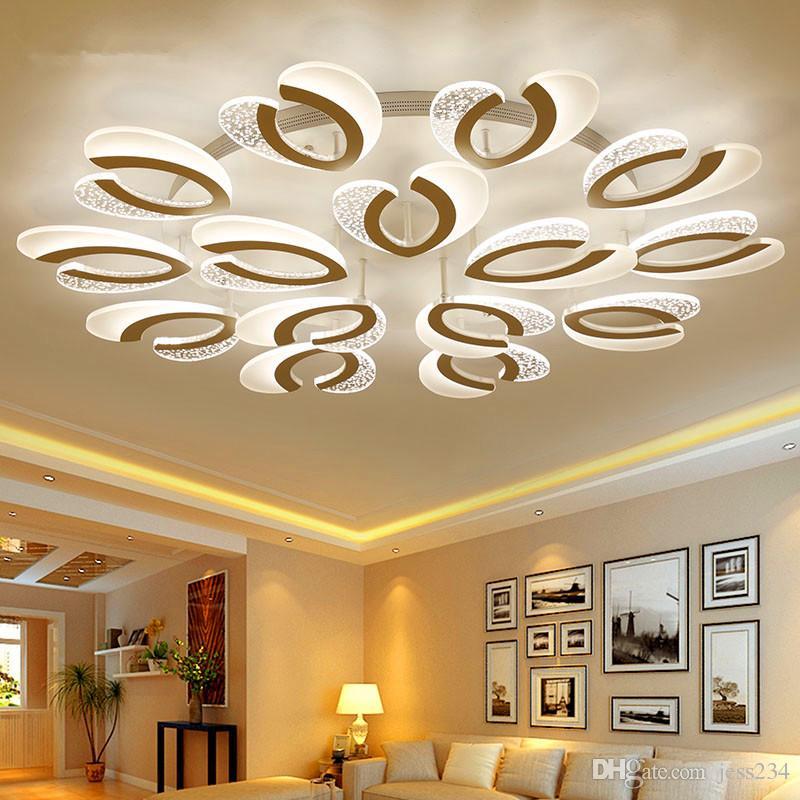 Großhandel JESS New Design LED Deckenleuchten Für Wohnzimmer ...