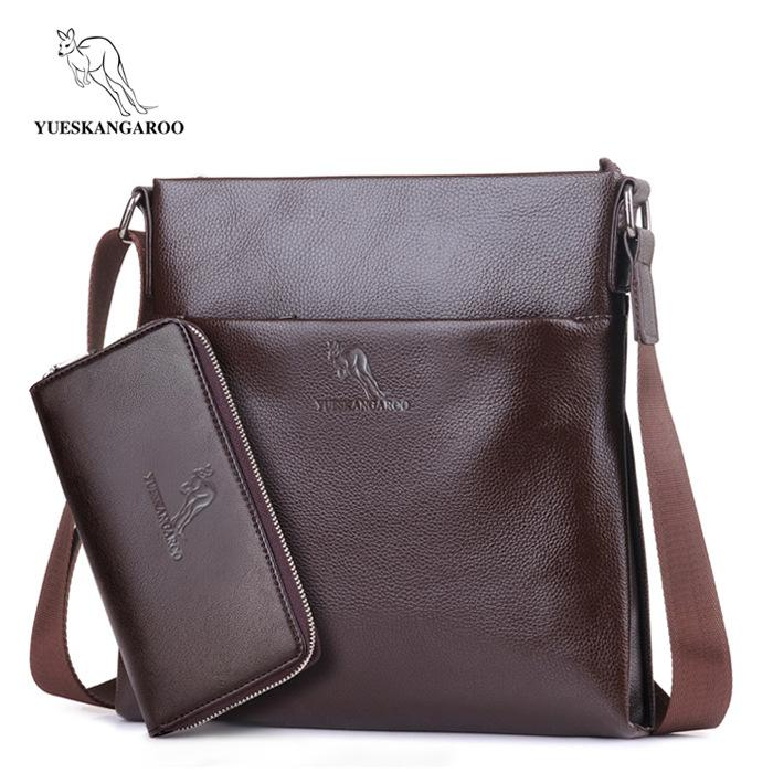 2019 New Arrival Genuine Leather Men Messenger Bags Promotional Small Crossbody Bag Business Shoulder Bag Casual Man Bag