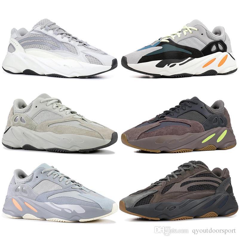 5500d2a56dee6 2019 2019 Static 700 Wave Runner Inertia Mauve Mens Women Running Shoes  Runner Designer Shoes 700 Kanye West Sport Sneakers 36 46 From  Qyoutdoorsport