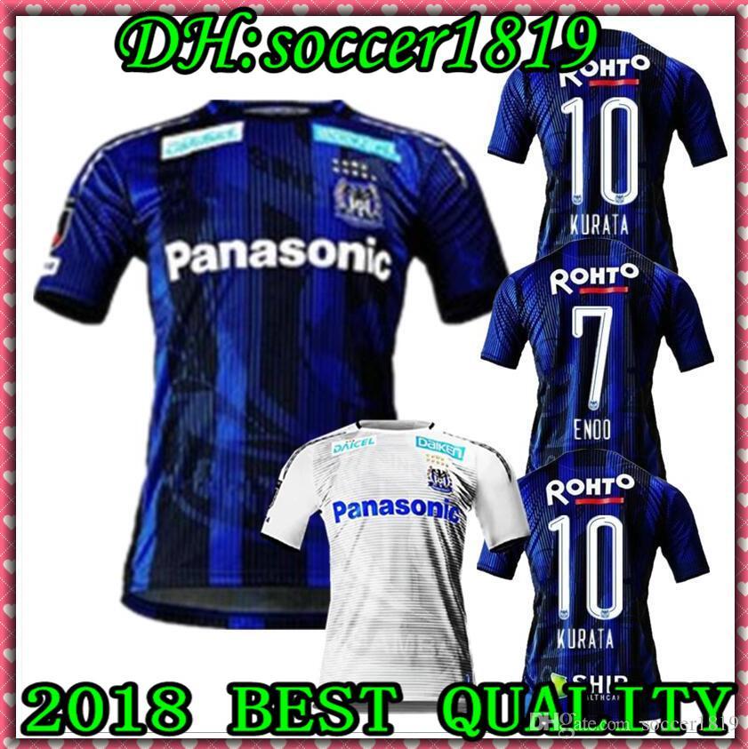 J League Football Shirts: 2020 2019 20 Japan J League Gamba Osaka Home Away Soccer