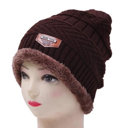 купить оптом 2018 мода зимние шапки для мужчин вязаные шапки для