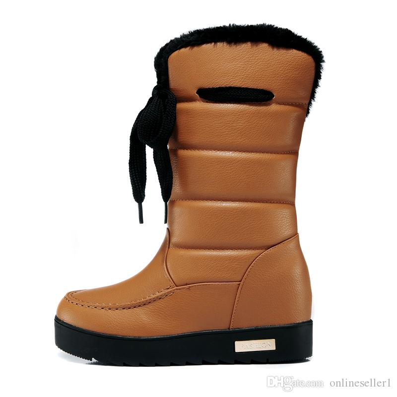 513715b16f Discount New Fashion Women Boots Winter Warm Comfortable Lady Girls Shoes  Boots With Box Size EUR 36-39