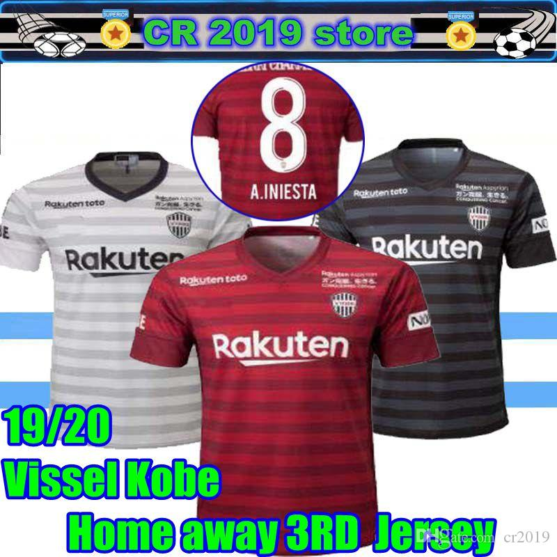 4d7b408eba3 2019 Best 2019 Vissel Kobe Soccer Jersey Home Away Third 19 20 Vissel Kobe  A.INIESTA PODOLSKI DAVID VILLA Football Shirts Top Quality Customi From  Cr2019, ...