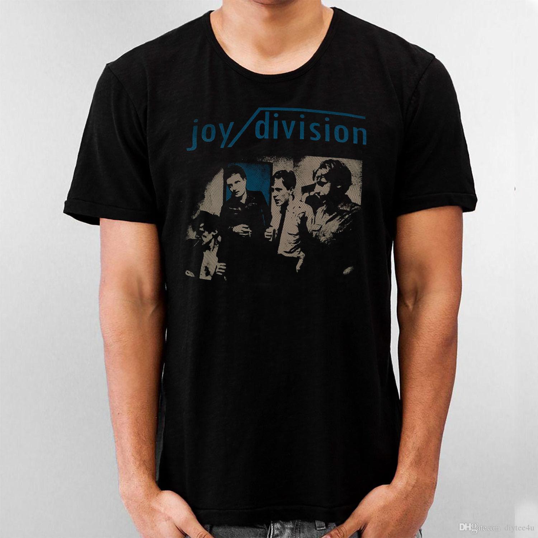 18b18e09 Black Shirt Joy Division English Rock Ian Curtis Love Will Tear Us Apart T  Shirt For Men Street Custom Short Sleeve Boyfriend'S 3XL Party Ca Best T  Shirt ...