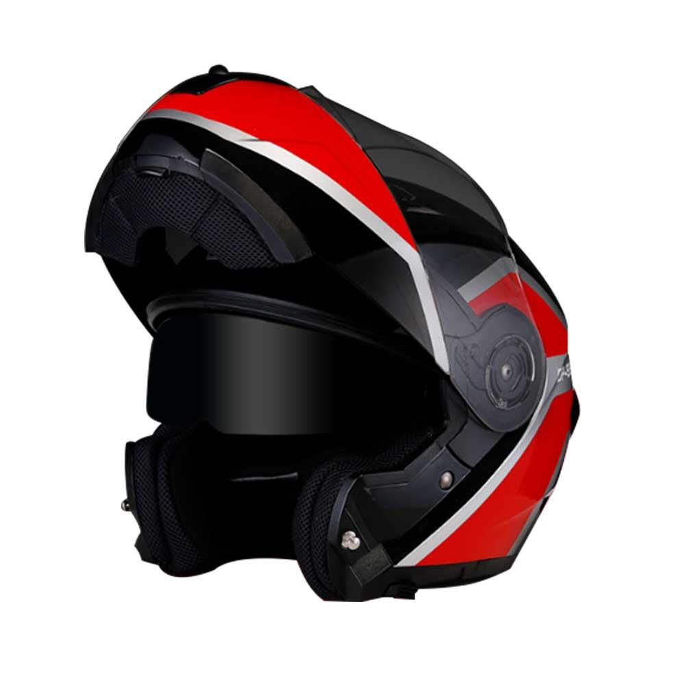 Clamshell motorcycle helmet road module for free access area helmet Cool double - lens all - over motorcycle