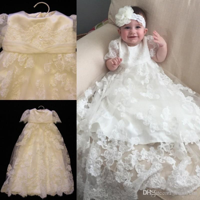 29fe75113 Bautizo Perlas Largo 2019 Para Bebés Compre De Niñas Vestidos PX80nwNkO