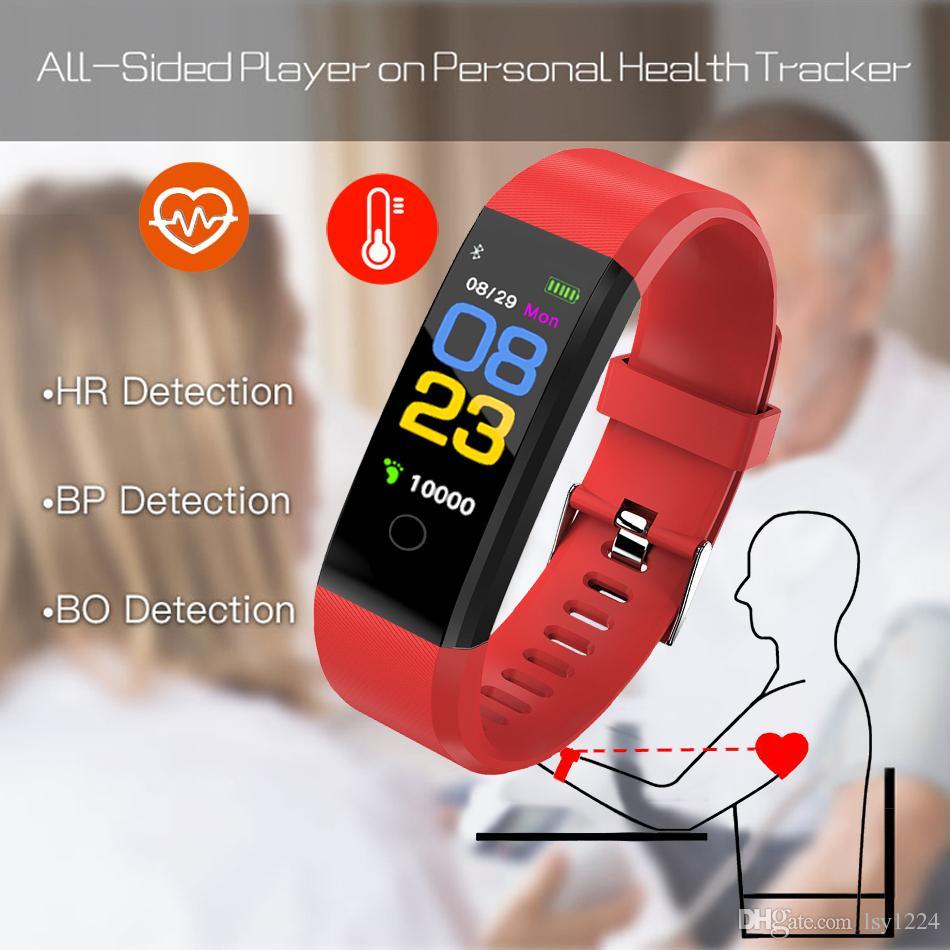 af3198d79901 Compre Nuevo Reloj Inteligente Hombres Mujeres Monitor De Ritmo Cardíaco  Presión Arterial Gimnasio Rastreador Reloj Deportivo Smartwatch Para Ios  Android + ...
