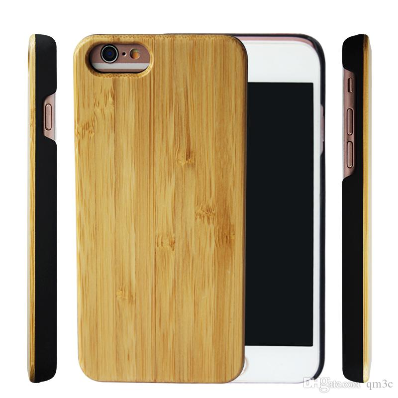 new arrival 32230 1346a New Customized Design Wood Case For Iphone 6/6s/6plus/7/8/XR/XS Wooden  Phone Cover For Samsung Galaxy S9/Note9/S8plus