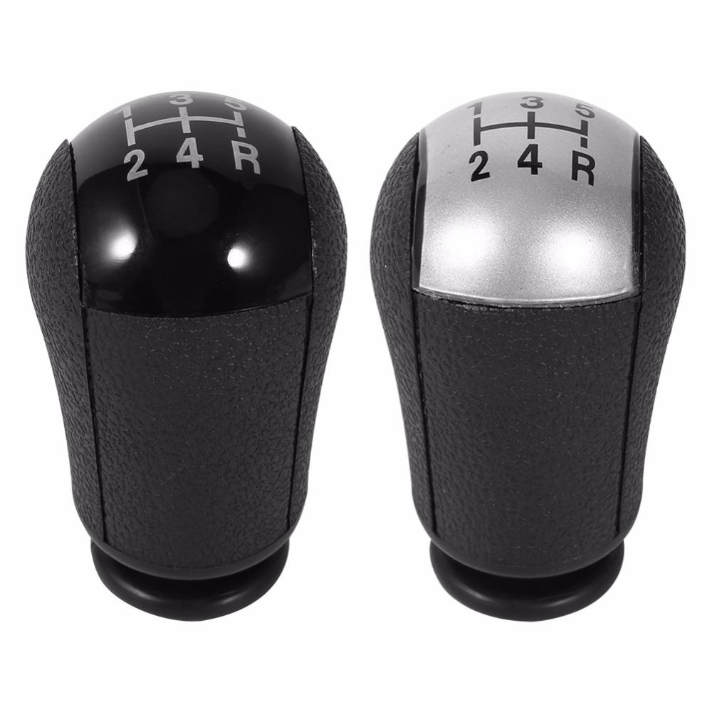 5 speed mt gear stick shift knob car for ford focus mondeo mk3 s max c max mustang galaxy fiesta mk6 transit black silver colors cheap car decorations cheap
