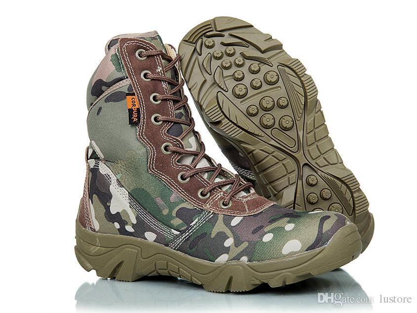 Alto Campo Nueva Especiales Soldados Otoño Invierno Tácticas Camuflaje Venta Desierto Producto Zapato Militar Montaña Zfmall Botas Batalla qMSpjVLUzG
