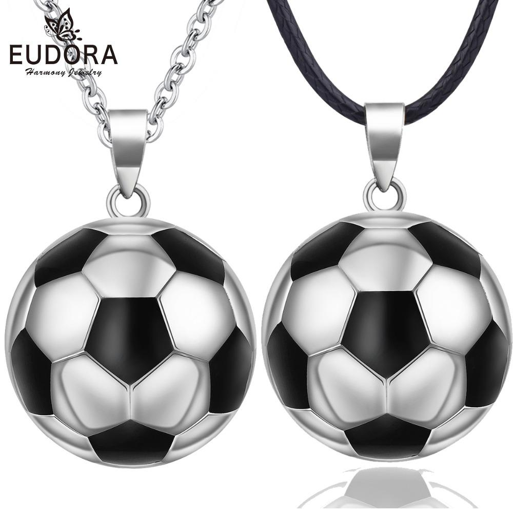 wholesale Angel Caller Football Pregnancy Chime Ball Harmony Mexcian Bola Ball Necklace Pendant Wishing Ball Jewelry Gift N14NB334