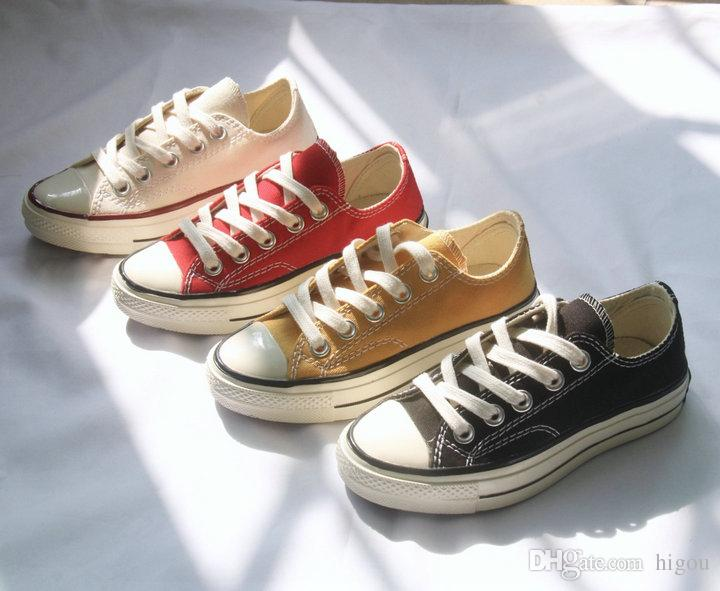 New Converse Kids Chuck Taylor 1970s Infant baby girls boys Casual Canvas Running Shoes Fashion Designer All Star Sneakers 23-36