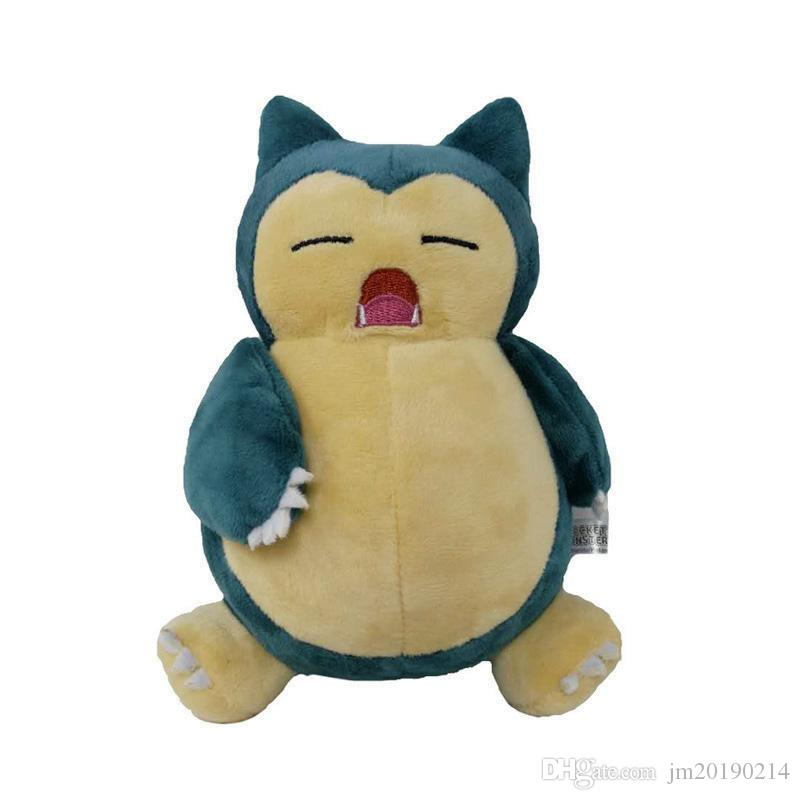 New Toy Snorlax Pikachu Soft Doll Plush Toy For Kids Christmas Halloween Best Gifts 8inch 20cm
