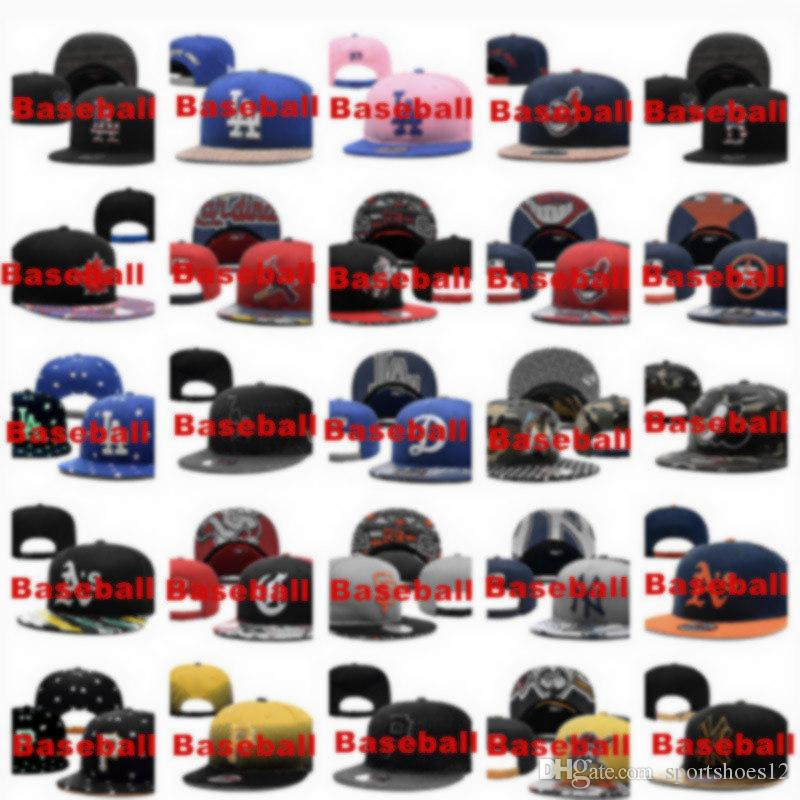 Wholesale American Sport Team Snapback Caps Baseball Hats For Men Women  Adjustable Sport Visors Caps More Than 10000 Styles Baseball Hats Newsboy  Cap From ... e4818f6164b