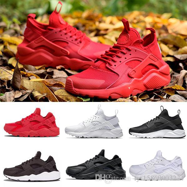6a06106d1b92 2018 New Air Huarache Shoes Ultra Casual Shoes For Men Women Woman Mens  Black White Air Huaraches Huraches Fashion Outdoor Shoes EUR 36 45 Tennis  Shoes ...