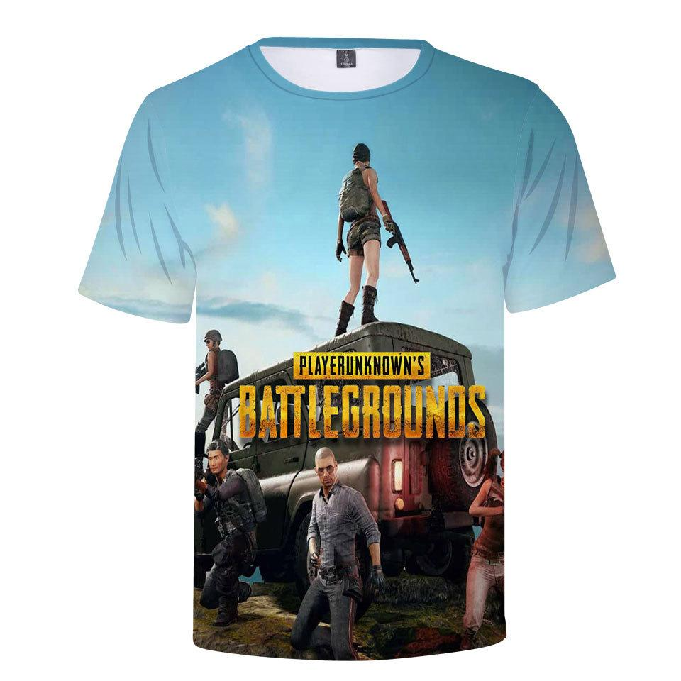 c7e0f369 new Summer Hot Pubg 3d T Shirt Men/women Fashion Game Playerunknown's  Battlegrounds Plus Size 3d Print Pubg Men's T Shirt
