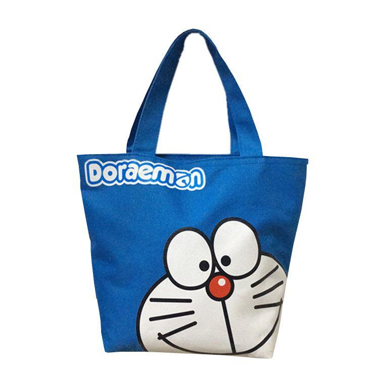 f54a4eb7c Compre Punto De Dibujos Animados Bolsa De La Compra Bolsas De Lona  Reutilizables Tote Hello Kitty Shopper Grocery Bag Bolso De Tela Tela Bolsa  Compra F32 A ...
