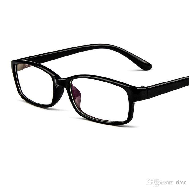 29b7fb9f5 Compre Personalidade Ultraleve Quadrado Frames Óculos Mulheres Homens Moda  PC Clear Eyewear Miopia Óptica Óculos De Armação Lentes Opticos 334 De  Riten, ...