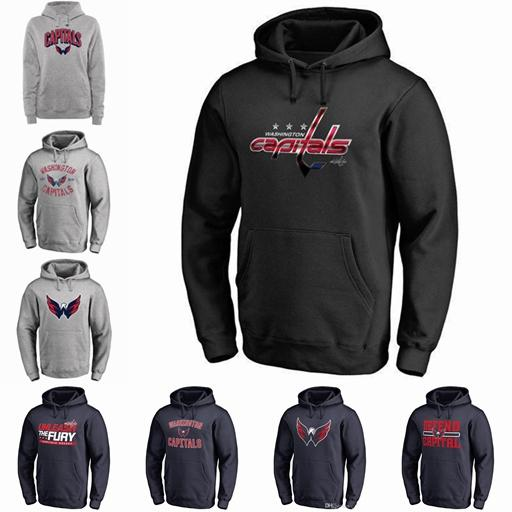 2018 NHL WASHINGTON CAPITALS hoodies Alexander Ovechkin TJ Oshie Braden Holtby Name and Number Player sweatshirts Great Quality