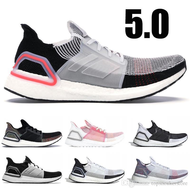 7dcb6e08a94fa Ultra Boost 5.0 Running Shoes Men Women Designer Sneakers Black Multi Color  Panda Oreo True Pink Ultraboost Sport Shoes 36 45 Woman Running Shoes Mens  ...