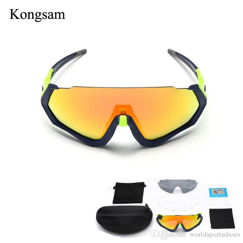 7843d2eb3ea 2019 UV400 100% Polarized Bicycle Glasses Bike Sunglasses Cycling Goggles  Eyewear 3 Lens Kit Outdoor Sports Bike Motorcycle Glasses  235312 From ...