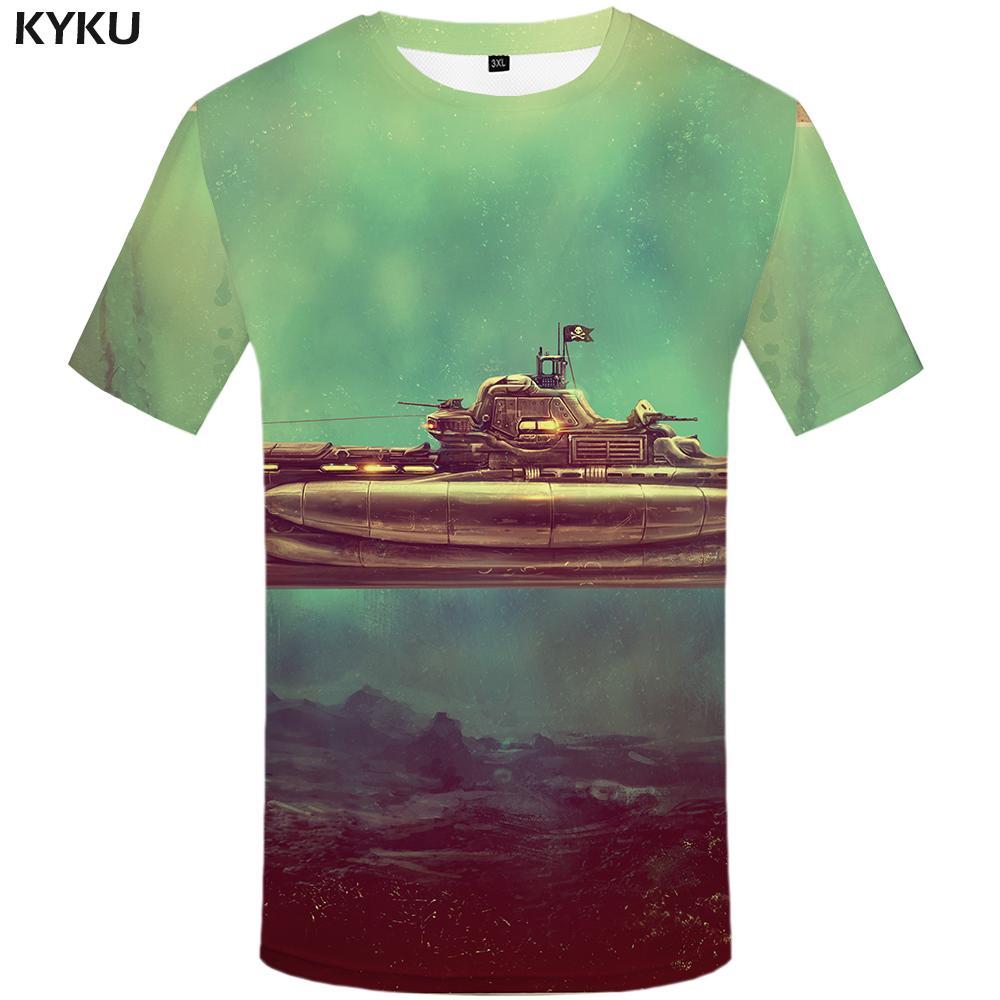 Compre Camiseta 3d Camisetas Pirata Camisetas De Hombre Camiseta Con  Estampado De Metal Informal Camiseta Impresa De La Guerra Homme Para Hombre  New Rock A ... c598624cd1fe1
