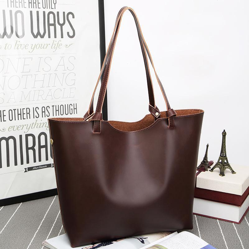 Hot Sale Women's Tote Bags 2019 Good Quality Leather Shoulder Bags Female Luxury Designer Top Handle Bag Women Handbags Pt1116