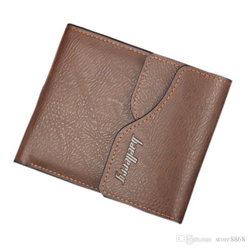 61d4235ecf Fashion Genuine Leather Wallet Men Wallets Multifunction Purse Male Coin  Pocket Short Section Portfolio Card Holder Small Wallet