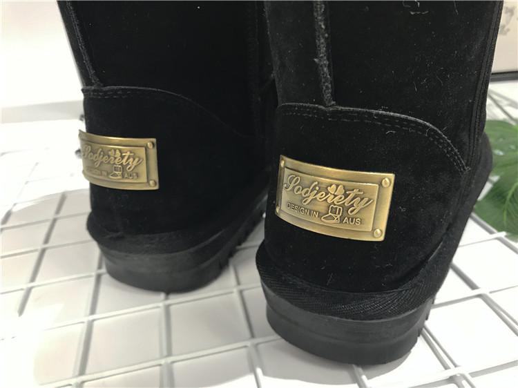 Lzzf 2018 Russland Peluche Pelucia Winterschuhe Frau Damen Damen Stiefeletten Frauen Schnee Stiefel Plüsch Buty Botas Mujer Bottines