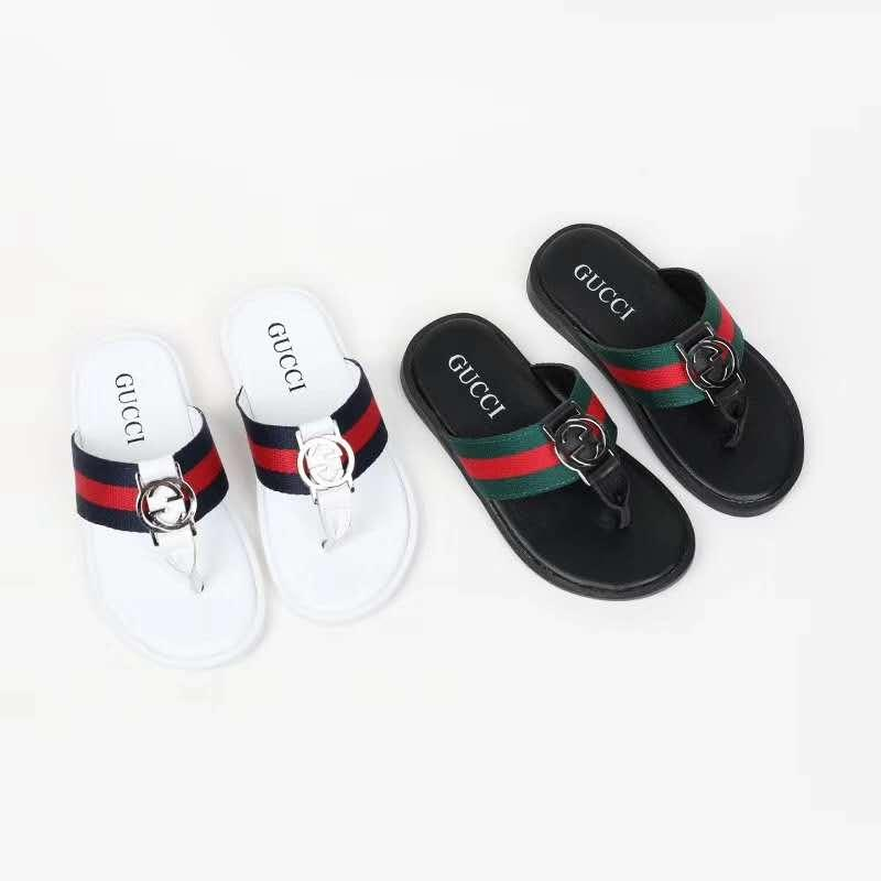 kid slipper Flip Flop black kid animal slipper summer fashion designer boy house slipper sandals Eu 21-35 send with box
