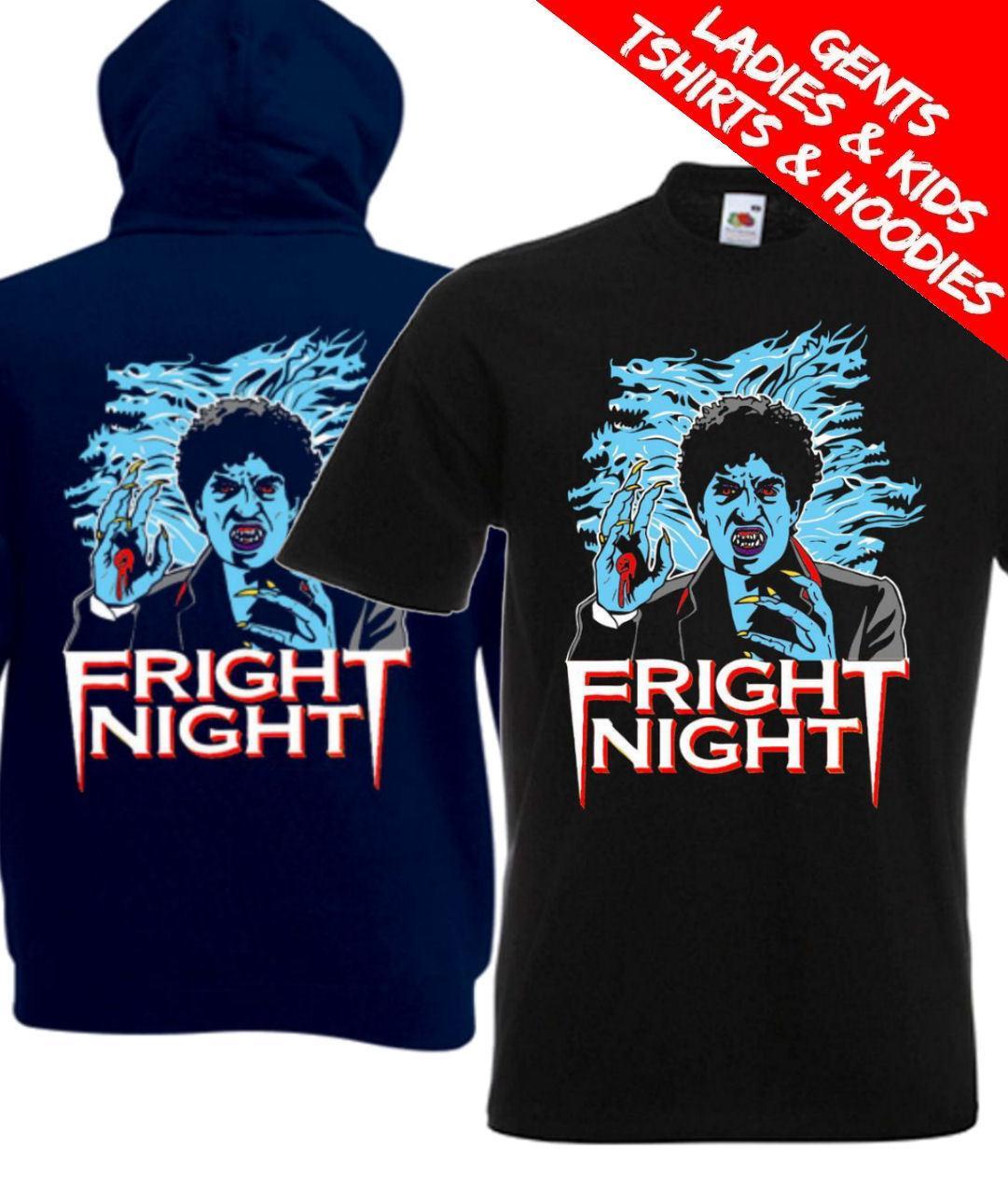 Fright Night 80s Horror Movie T Shirt Hoodie Men Women Unisex