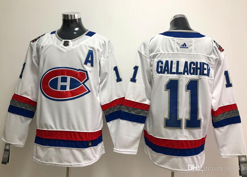best service 5096a 62a3e 2019 Brendan Gallagher NHL Hockey Jerseys PK Subban Winter Classic Custom  Authentic ice hockey jersey All Stitched Player blank baby kids us