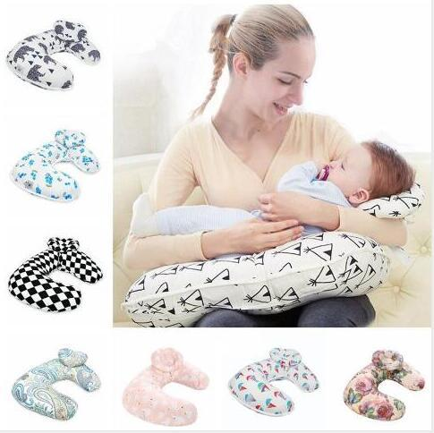 Breast Feeding Pillows Nursing Pregnant Women Pillow Baby Cartoon Creative Baby Mom Pillow Detachable Cleaning U Shape Sleeping Pillow WY09Q