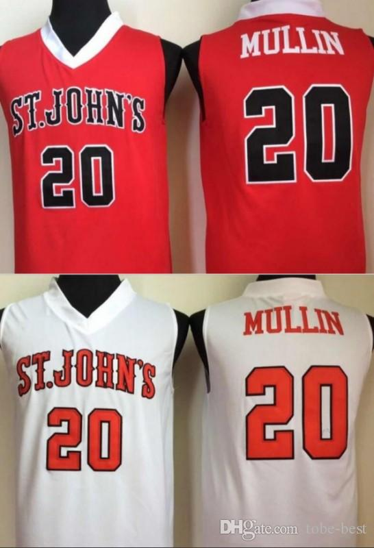 d9474204d86 2019 NCAA Mens St. Johns University Chris Mullin College Basketball Jersey  20 Chris Mullin University Basketball Stitched Jerseys From Tobe Best, ...