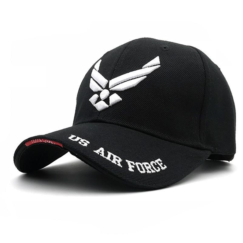 8160063b0d541 2019 Hot Selling Men Tactical Cap US Air Force Unisex Adjustable Street  Hiphop Baseball Cap Fitted Sunscreen Hats Baseball Cap Flat Cap From  Hao18816834101